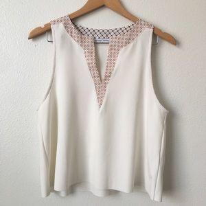 Zara W/B blouse